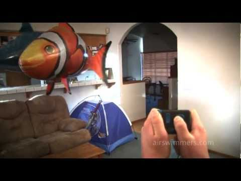 Peces voladores por radiocontrol