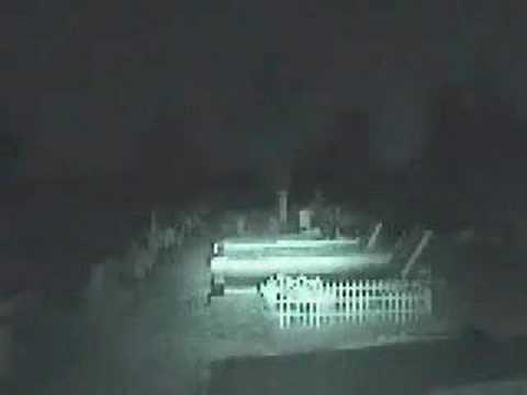 Fantasma en el panteon